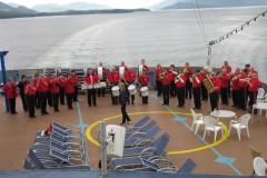 2011, Alaska, Carnival Ship Concert